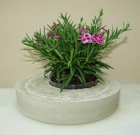 Bloempot beton voor binnen of buiten
