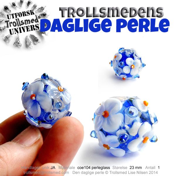 Lampwork beads, Norway, filigree, porcelain beads. Find me at Facebook  http://www.facebook.com/trollsmeden Trollsmed Lise Nilsen http://www.trollsmed.com