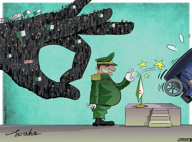 Bouteflika resigns. Who's next? Today's cartoon by SWAHA