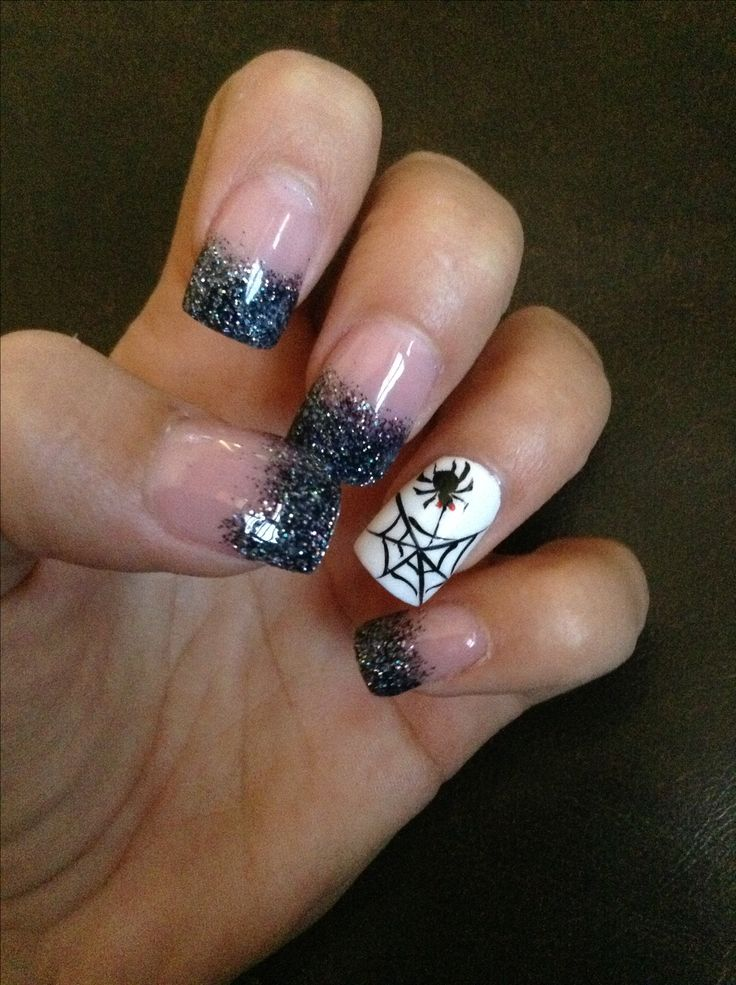 25 best Fall nails images on Pinterest | Halloween nail art ...