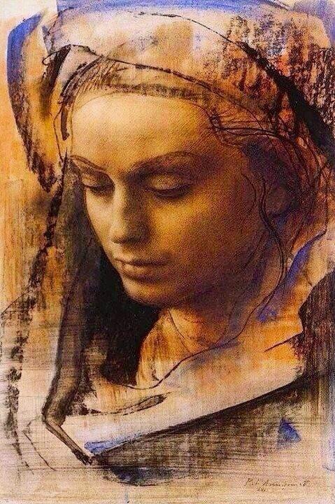 Mlucascir @mlucascir  43분43분 전 Pietro Annigoni #art #painting