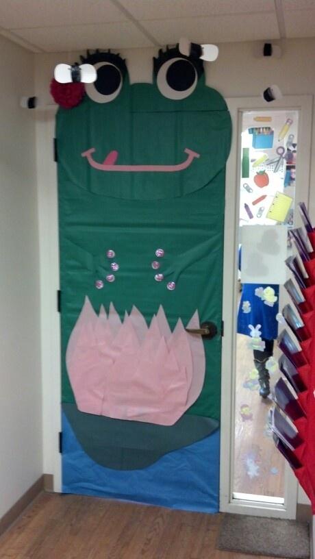 Frog Classroom Door Classroom Door Pinterest Doors
