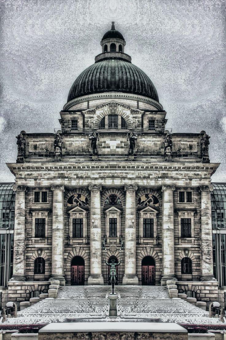 State chancellery, Munich by AngelEowyn
