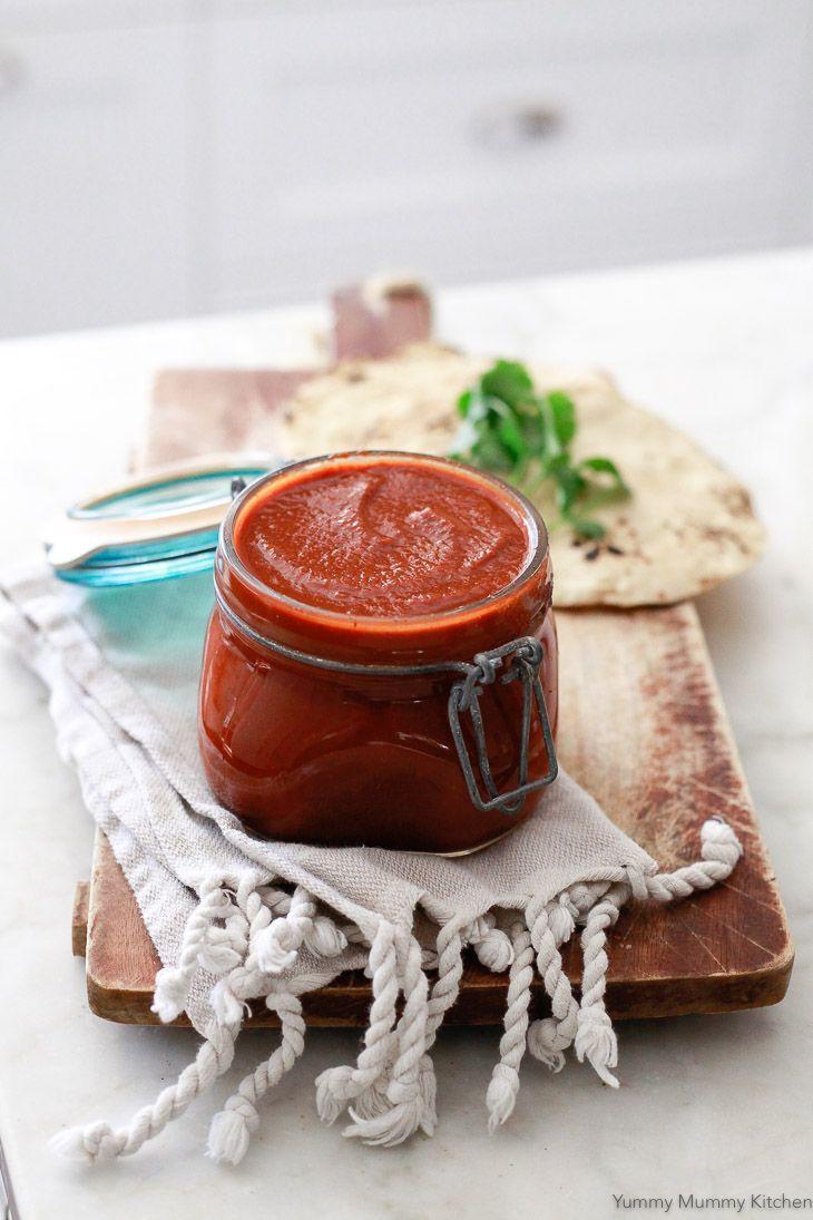 Easy Enchilada Sauce | Yummy Mummy Kitchen | A Vibrant Vegetarian Blog