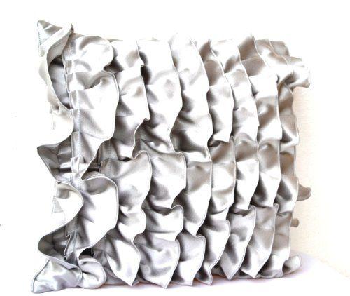 Decorative Cushion Covers In Silver Gray Satin With Ruffl... https://www.amazon.co.uk/dp/B00E71KQ2A/ref=cm_sw_r_pi_dp_bn.wxbF9C3VBZ