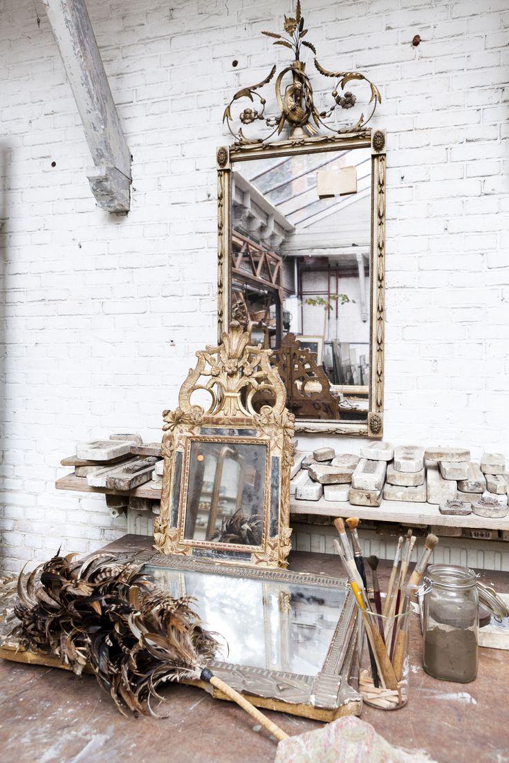 18th Century mirror | Anouk Beerents Antieke Spiegels