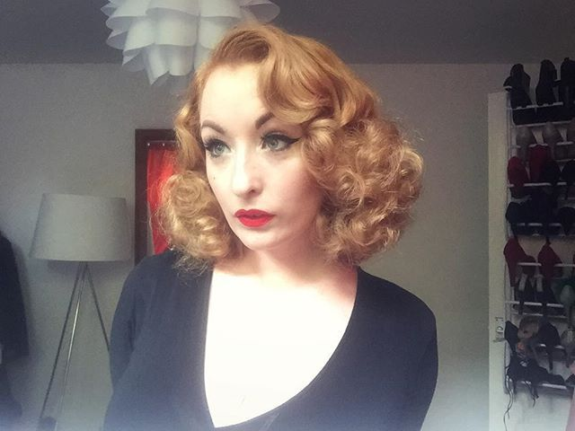 Candy floss head. #pinup #retro #vintage #redhead #hairdresser #leeds #vintagehair #newcastle
