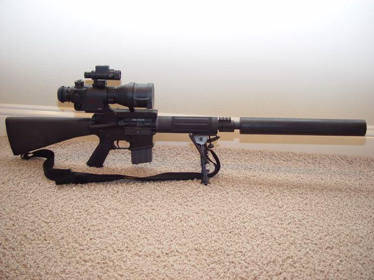 Suppressed 458 SOCOM