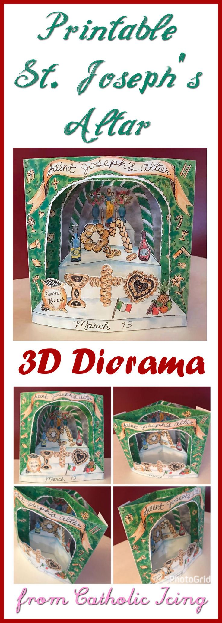 A+printable+3D+St.+Josephs+altar-+the+perfect+craft+for+Catholic+kids+in+March!+