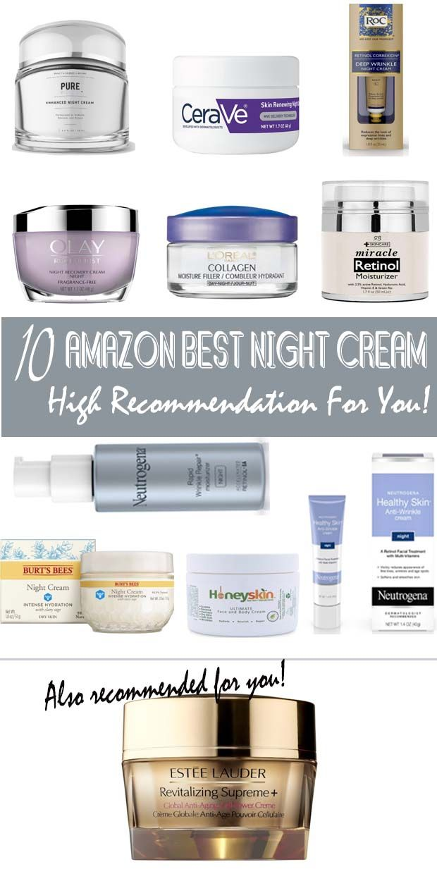 10 Amazon Best Night Cream High Recommendation For You Best