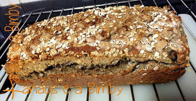 Pão de Espelta e Trigo Sarraceno na Bimby