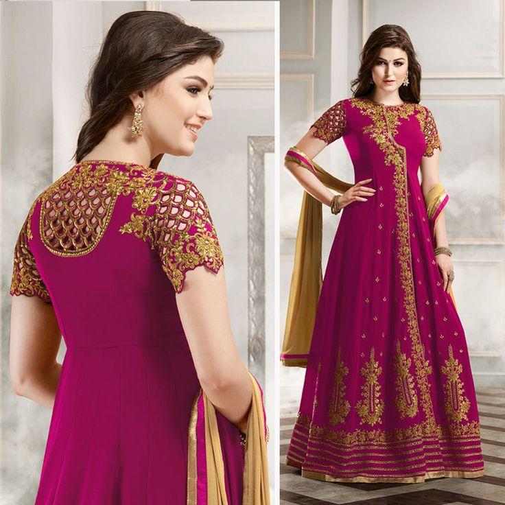 Wedding Anarkali Bridal Indian Clothes Bollywood Pakistani Designer Lehenga Suit | Clothing, Shoes & Accessories, Cultural & Ethnic Clothing, India & Pakistan | eBay!