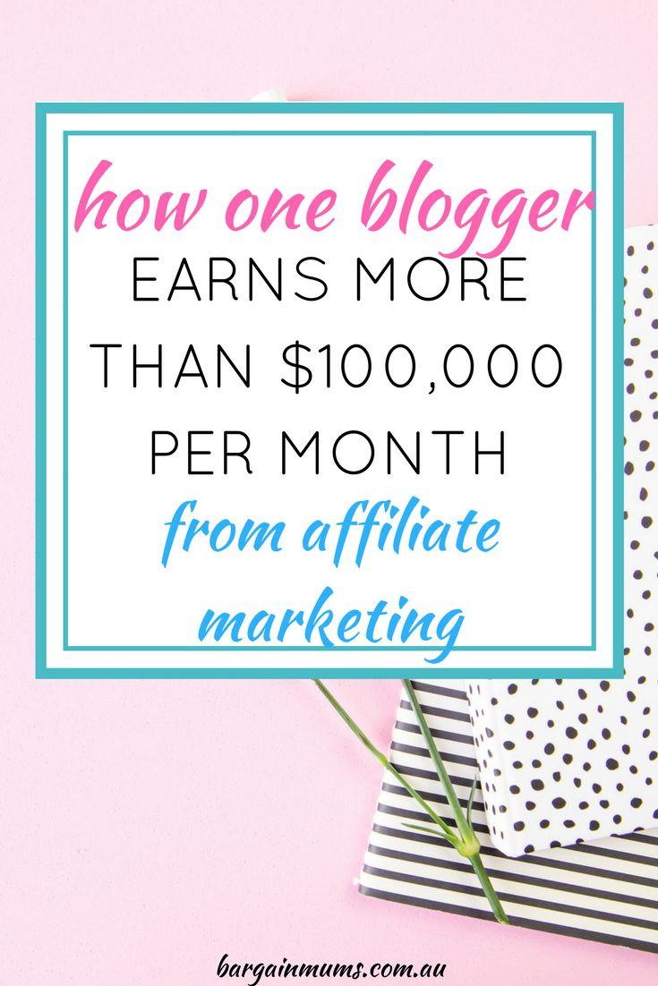 Want to earn an income from home but don't know where to begin? Find out how one blogger earns over $100000 every month, and how you can do the same.