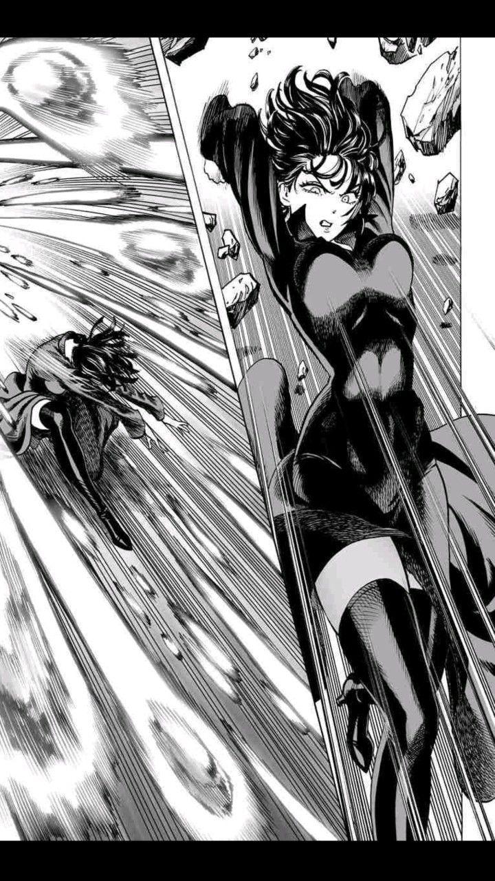 Hellish Blizzard Fubuki One Punch Man Manga One Punch Man Anime One Punch Man