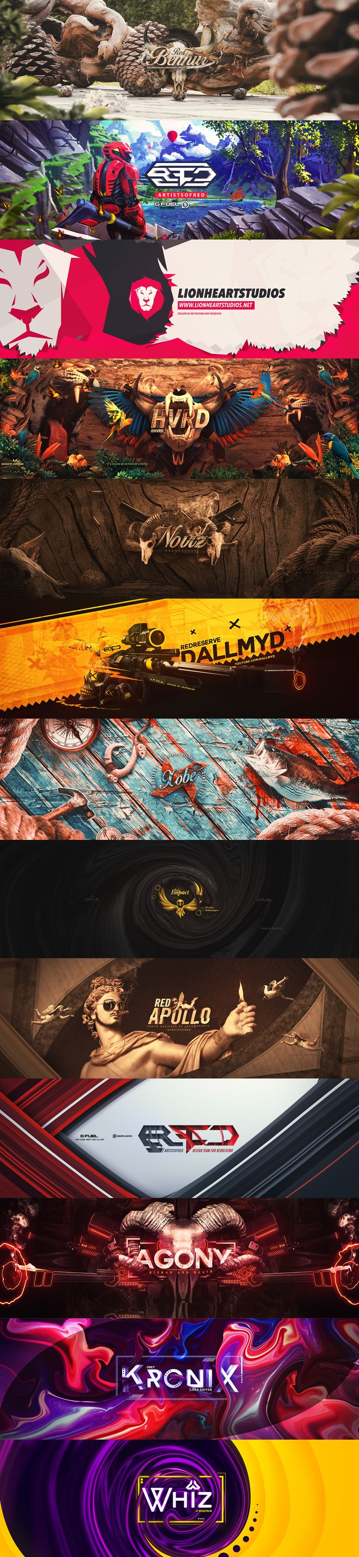 Banner design on Behance