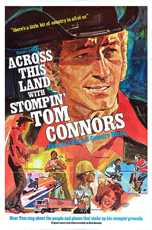 Fan Site For The 1973 Across This Land with Stompin Tom Connors filmed at The Horseshoe Tavern Toronto Ontario Canada