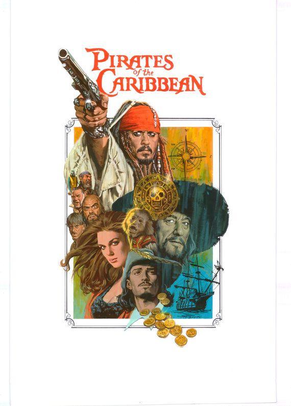 Piratas del Caribe cartel, piratas de la Caribe, Poster de Jack Sparrow, Jack Sparrow, piratas, cartel de Jonny Depp, Keira Knightley