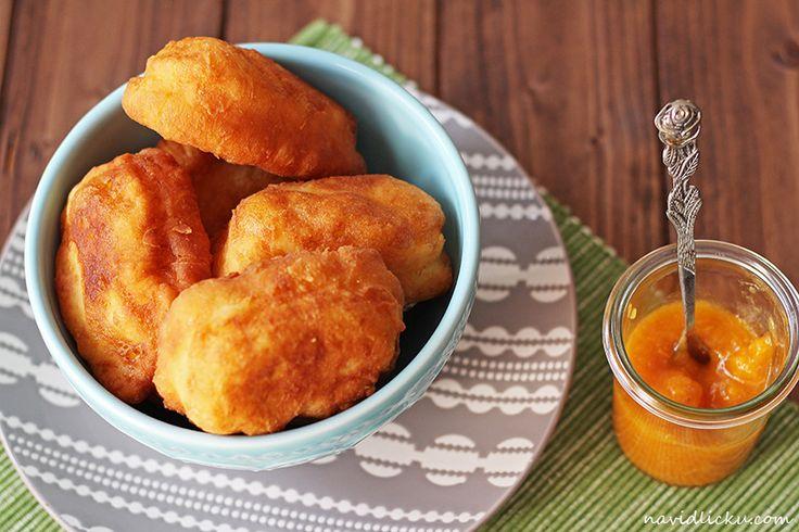 Quick Curd Cheese Scones / Rychlé tvarohové vdolečky | Na vidličku food blog