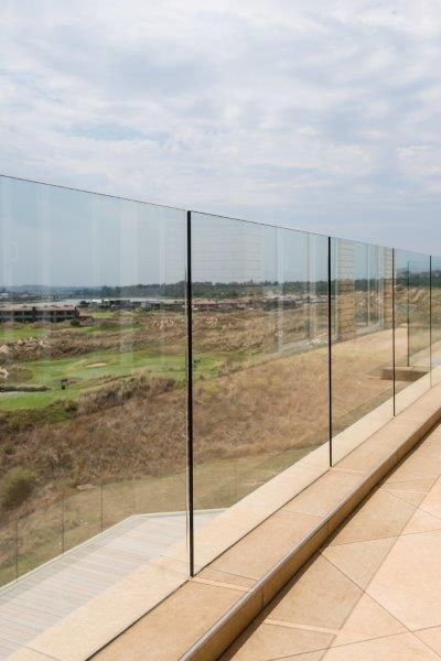 SANS compliant glass balustrades by Steel Studio