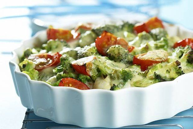 Fish and broccoli casserole