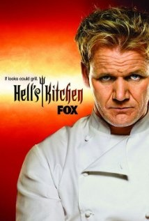 Hell's Kitchen...anything with Gordon Ramsay yelling is made of win!