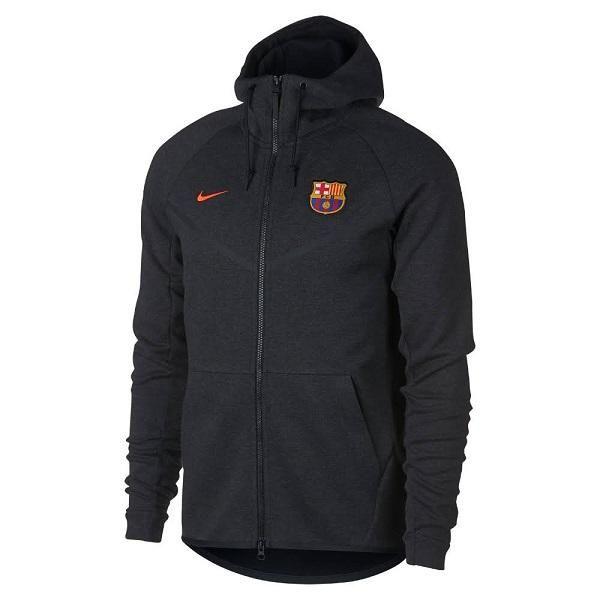 Nike FC Barcelona Tech Fleece Men's Jacket (Black)