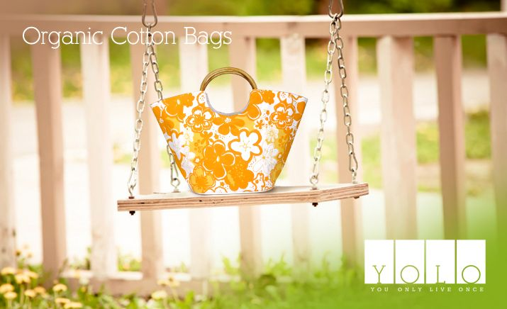 Organic Cotton bags For Women From YOLO