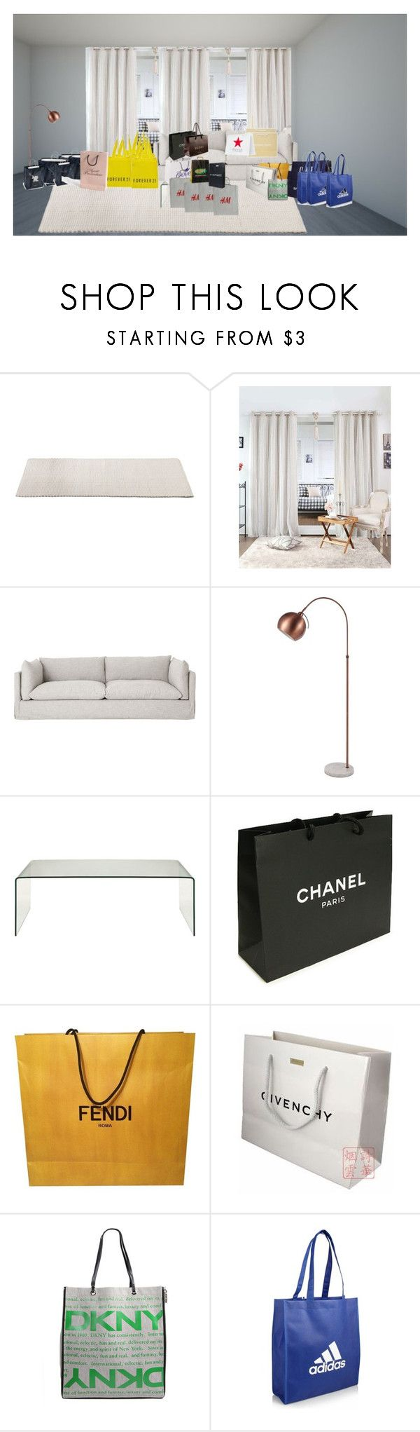 """""""Sem título #547"""" by paradapermitida on Polyvore featuring moda, Best Home Fashion, Forever 21, Chanel, Fendi, Givenchy, CO, American Eagle Outfitters, H&M e DKNY"""