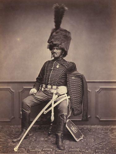Foto de veterano de las guerras napoleónicas