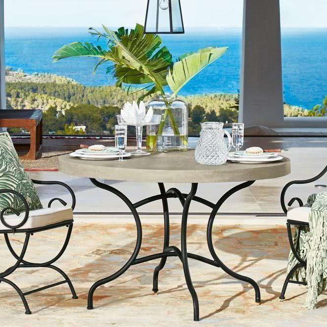 Tisch Mayfield Tisch Gartenmobel Und Tischplatte Rund