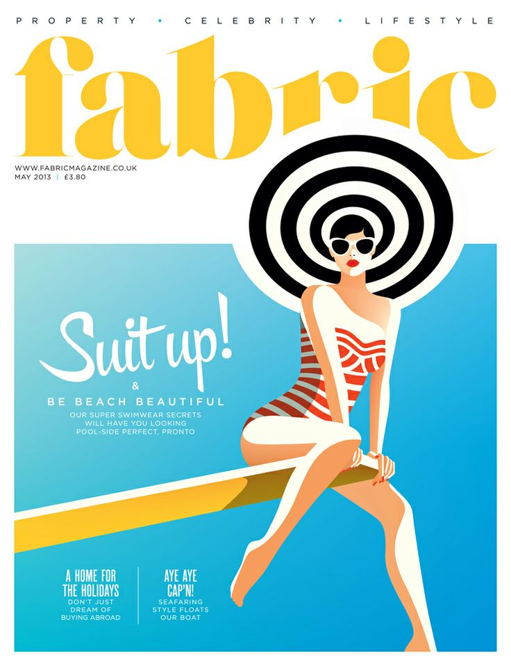 Fabric magazine, May 2013 The 'Be Beach Beautiful' issue