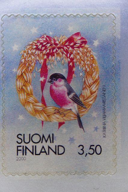 Finland Christmas stamp - 2000