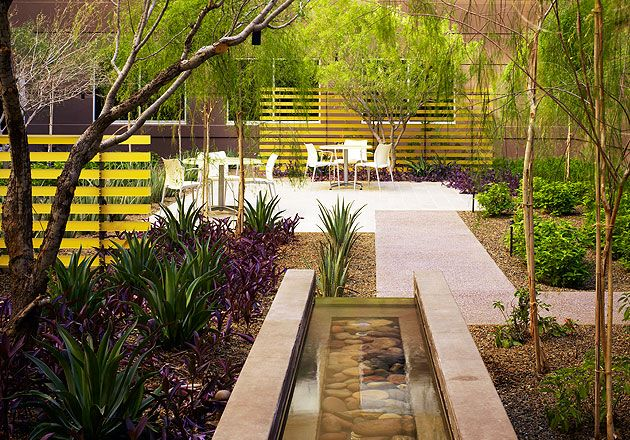 Scottsdale Healthcare Thompson Peak Hospital Healing Garden | Gensler