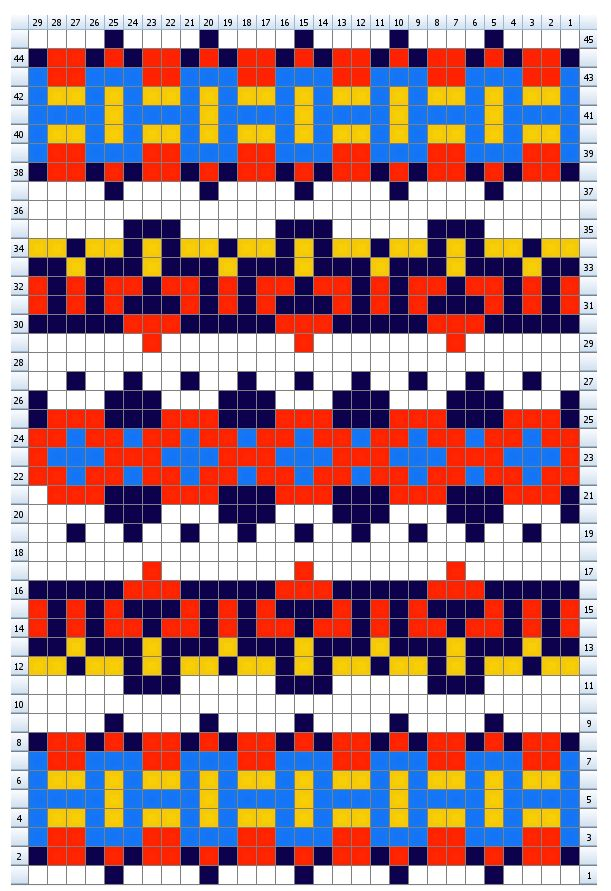 78 best Fair Isle Pattern images on Pinterest   Knitting charts ...
