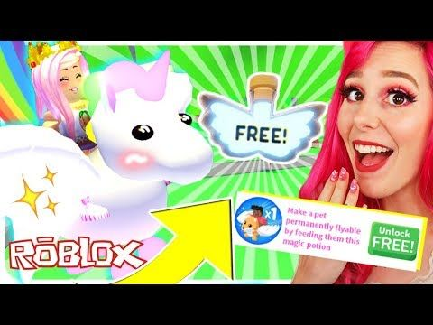 How To Get A Free Flying Pet Potion In Adopt Me Roblox Adopt Me New Flying Pet Potion Update Youtube Roblox Funny Adoption Roblox