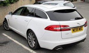 Jaguar XF in for new pirelli tyre