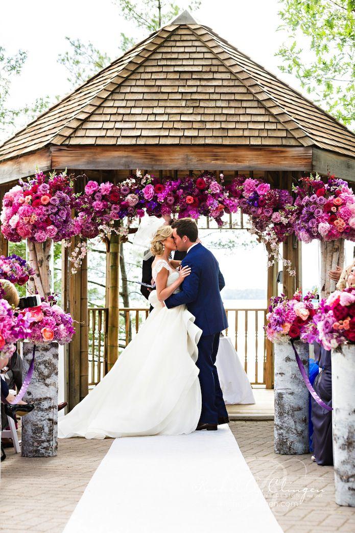 A Colourful Muskoka Wedding At Taboo Resort - Wedding Decor Toronto Rachel A. Clingen Wedding & Event Design