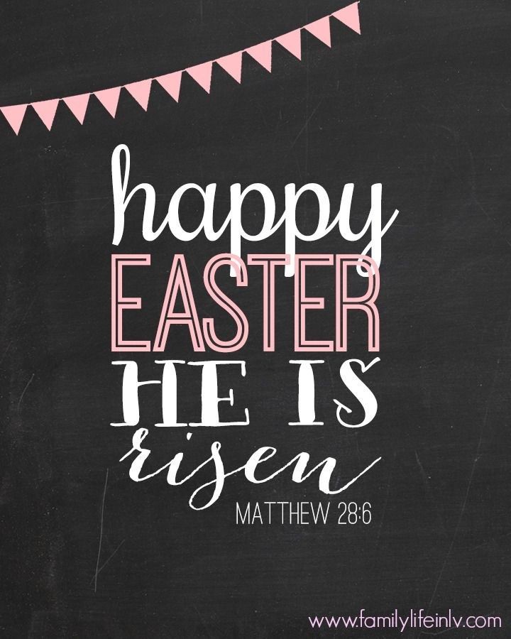 135 best free easter printables images on pinterest rabbit bunny easter printable art he is risen negle Images