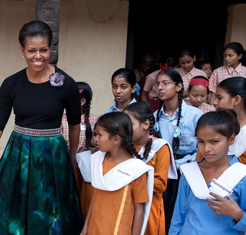 michelle obama term paper Before the 2008 elections, lauren collins profiled michelle obama, the wife of   michelle as a ballbreaker to barack's obambi (maureen dowd's term)  after  the paper published a story questioning the timing of the award.