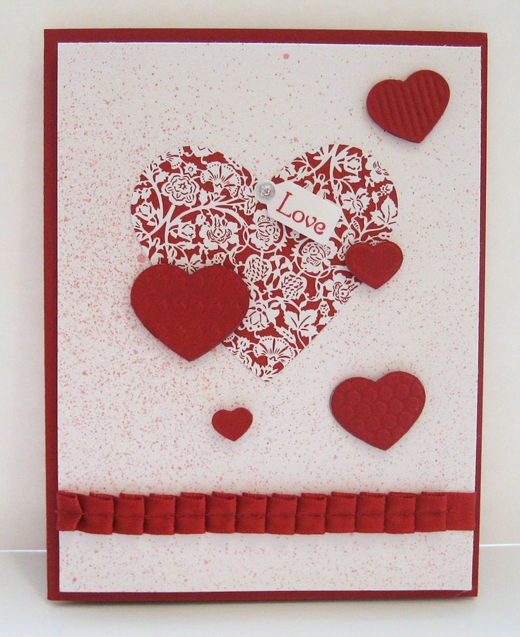 cute hand made valentines day - 736×902