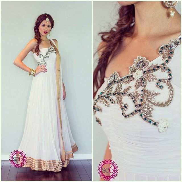 absolutely stunning detail on this piece   #IndianBridal #IndianBride #IndianFashion #StudioEast6  www.studioeast6.com