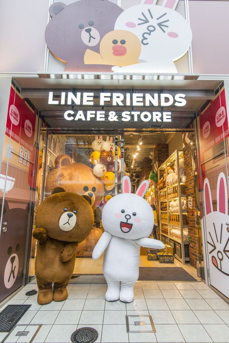 line friends cafe and store, Japan