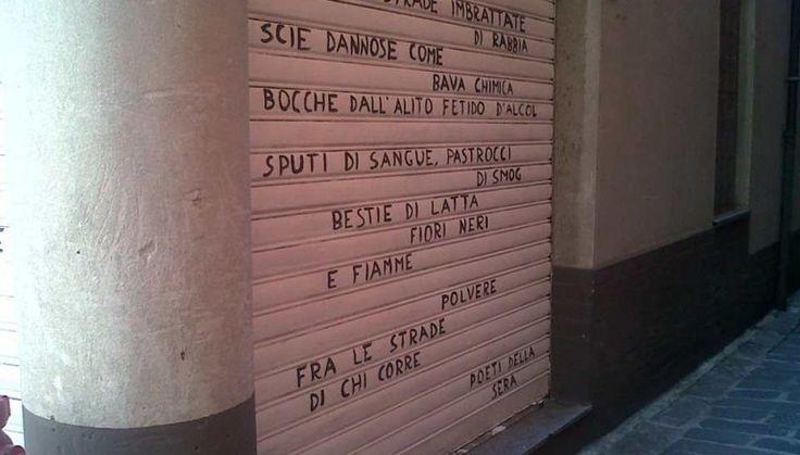 Poeti della Sera. L'arte poetica scende in strada