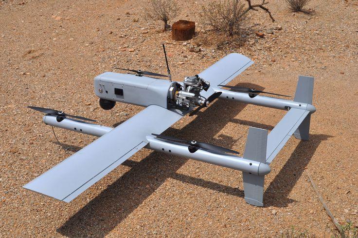Hybrid Quadrotor - Hybrid Quadcopter - VTOL UAV - Autonomous Takeoff - Autonomous Landing