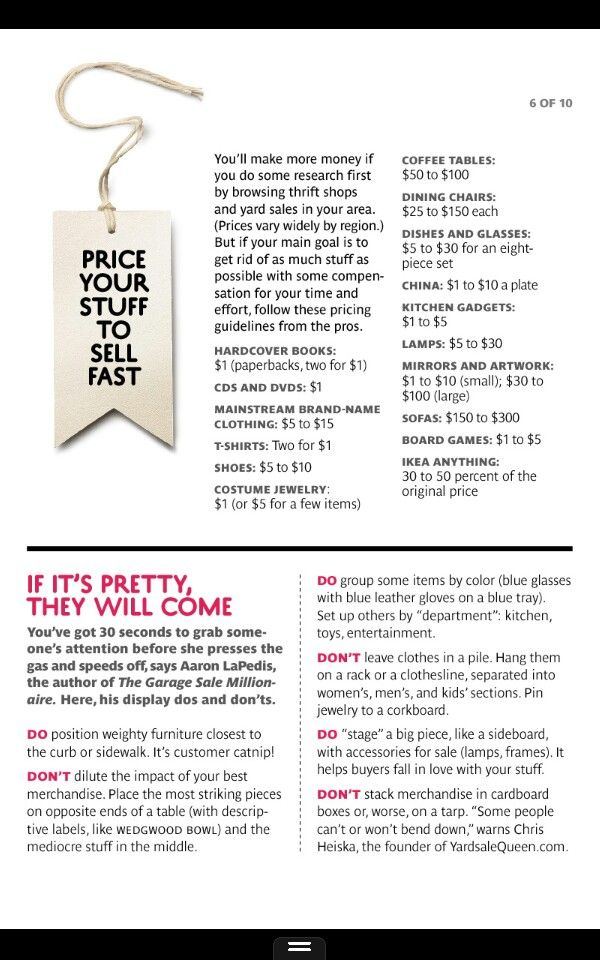 17 Best images about Yard Sale on Pinterest | Garage sale tips ...