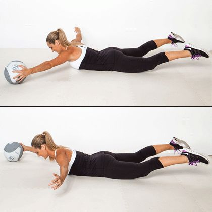 Body ball exercises core