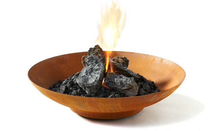 Bol Corten Fire Pit   BOXHILL