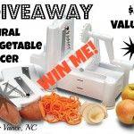 GIVEAWAY! Enter to Win This Spiral Vegetable Slicer!