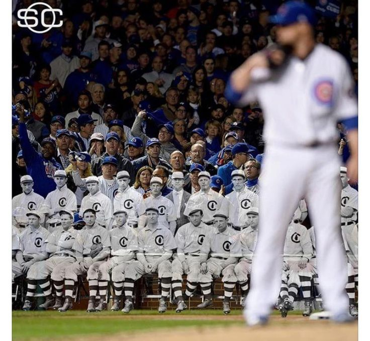 Chicago Cubs win the World Series.  First time in 108 years.