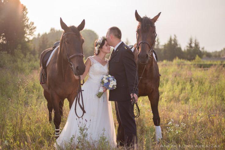 wedding inspiration photography photo shots, session with horses, plener ślubny, fotografia ślubna podlaskie